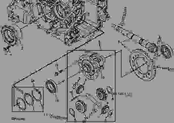 Transaxle Housing Differential Drive