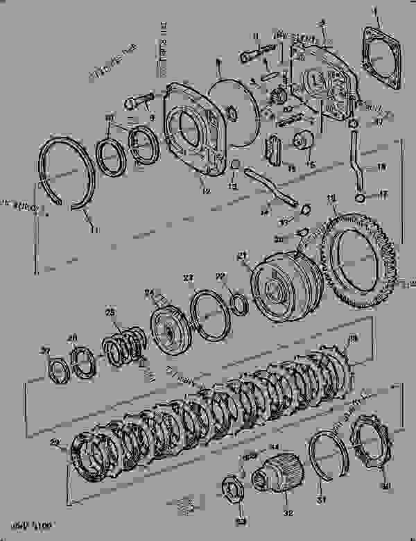 ford 4100 tractor parts diagram