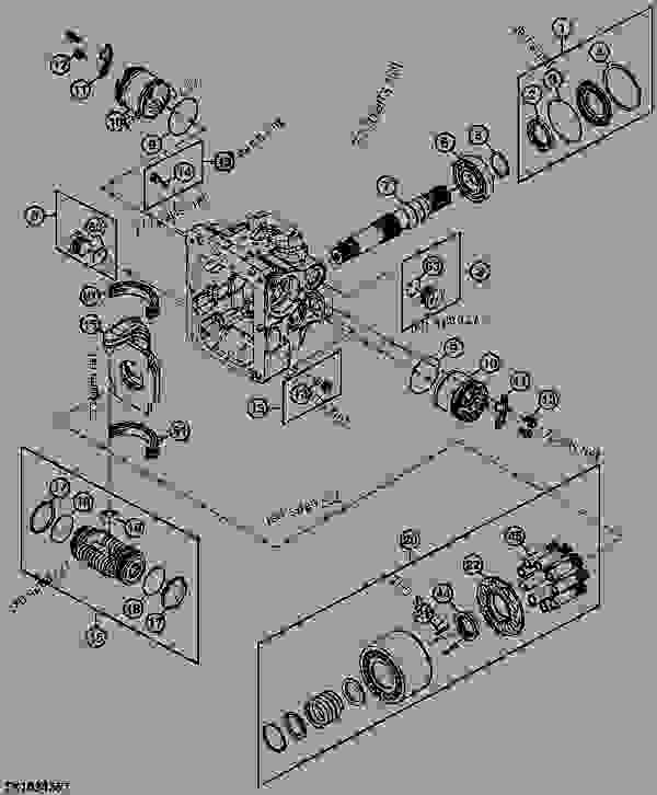 bobcat skid steer wiring diagram 7 pin