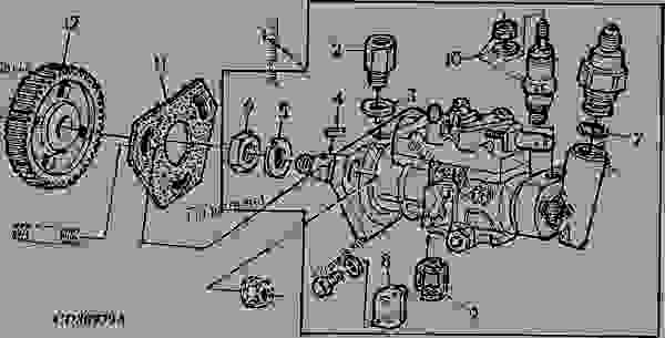 John Deere 6068 Denso Injection Pump Timing Image Of