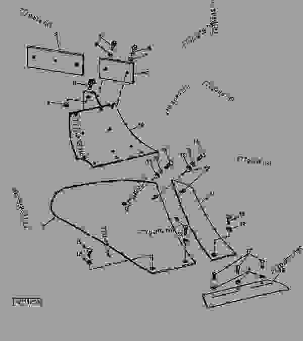 Moldboard Plow Parts : Plow bottoms moldboards landsides shins and frogs