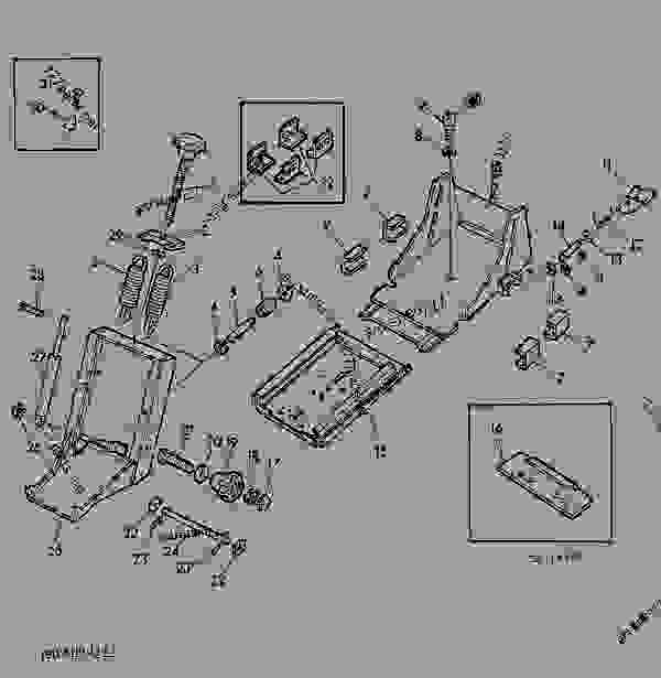 Parts scheme DELUXE SEAT,ADJUSTABLE [02F15] - TRACTOR John Deere 3135 - TRACTOR - 3135 (50000-) Tractor 90 OPERATOR'S STATION DELUXE SEAT,ADJUSTABLE [02F15] | 777parts