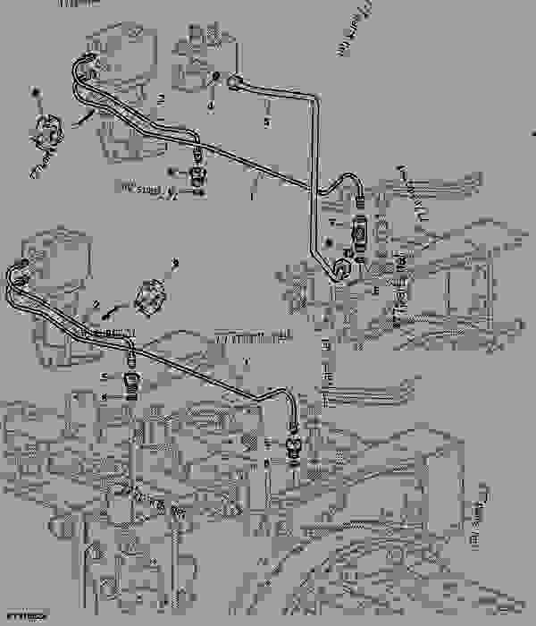 Tractor Air Lines : Control lines for trailer air brake xxxxxx tractor
