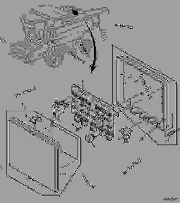[SCHEMATICS_4FR]  RELAY AND FUSE BOARD - COMBINE John Deere 9780CTS - COMBINE - 9780CTS,  9780i CTS Combines (072800- )Worldwide Edition ELECTRICAL SYSTEM RELAY AND  FUSE BOARD | 777parts | John Deere Combine Box Fuse |  | 777parts