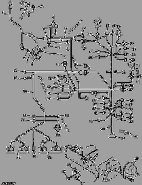 john deere 4010 wiring harness   30 wiring diagram images