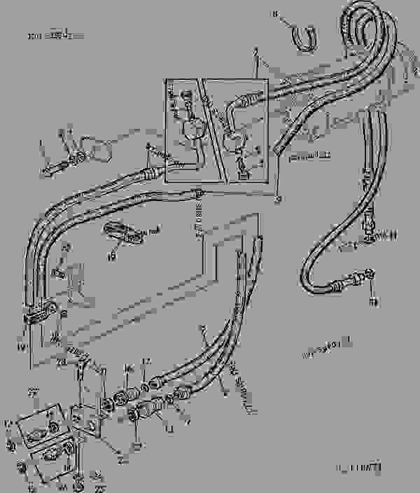 445 john deere ignition wiring diagram