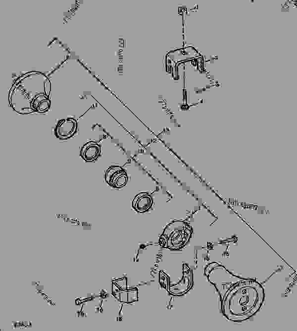 howse bush hog parts diagram