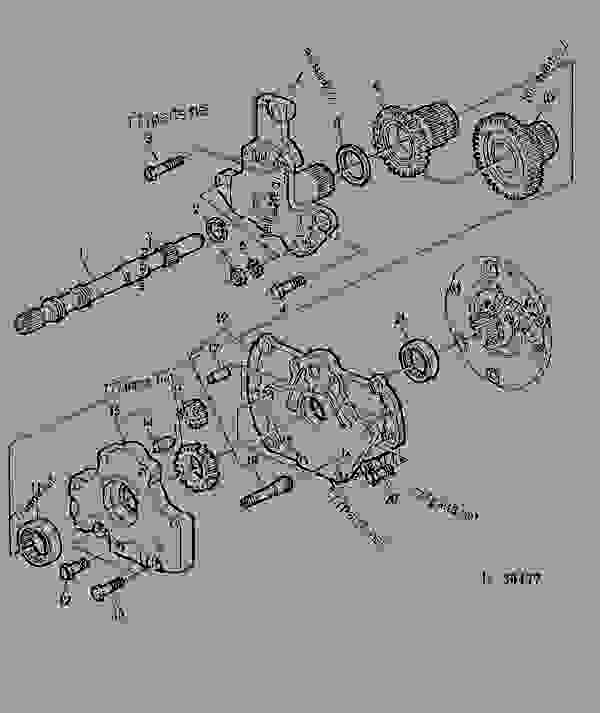 Shifter Shaftoil Pump Creeper Transmission 01h05 Tractor John. List Of Spare Parts. John Deere. John Deere B Transmission Shifter Diagram At Scoala.co