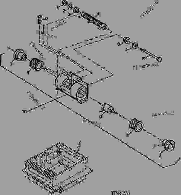 cab heater and air conditioning blower motor (802200  310d backhoe blower motor wiring diagram #8