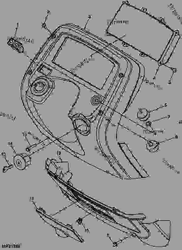 P684264 on electrical diagram for john deere