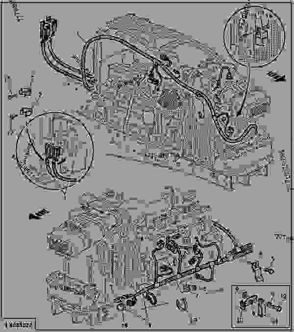 Precision Fuel Pump Wiring Harness Diagram from 777parts.net