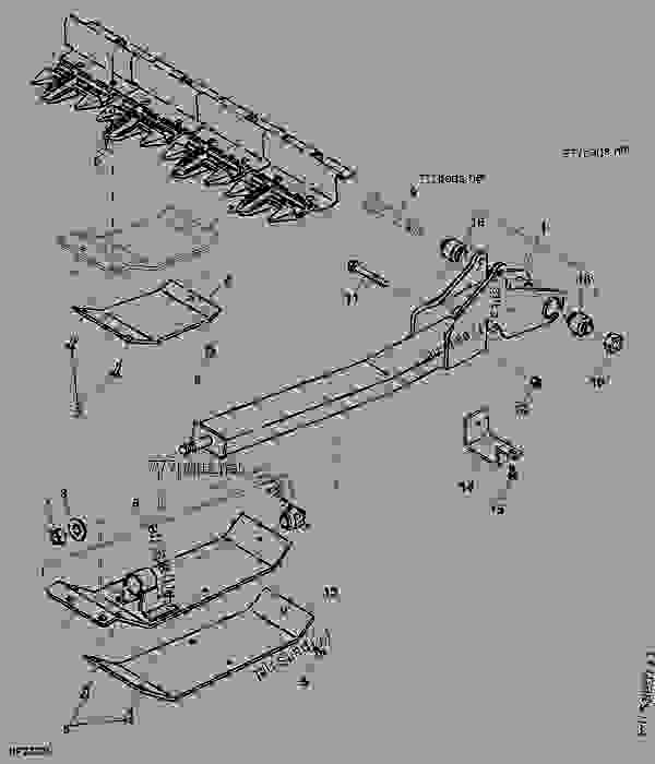 Steering Suspension Diagrams moreover Craftsman Riding Mower Belt Replacement 384732 likewise Toro Personal Pace Lawn Mower Parts Diagram furthermore P611533 additionally S1333765. on john deere control arm