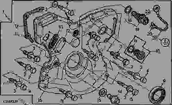 TIMING GEAR COVER - KIT (6539TR) - TRACTOR John Deere 4450 - TRACTOR on mitsubishi wiring harness, vermeer wiring harness, 5.0 mustang wiring harness, porsche wiring harness, generac wiring harness, john deere 410g wiring diagram, perkins wiring harness, john deere lawn tractor wiring, allis chalmers wd wiring harness, john deere solenoid wiring, troy bilt wiring harness, scag wiring harness, john deere stereo wiring, mercury wiring harness, large wiring harness, gravely wiring harness, john deere wiring plug, exmark wiring harness, john deere b wiring, john deere electrical harness,