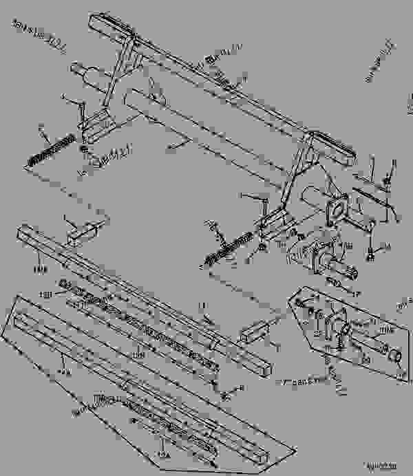 Parts scheme THREE-ARM ROTOR (127 AND 135 FEED MIXERS) [D06] - MIXER, FEED John Deere 127 - MIXER, FEED - 127, 135 and 152 Total Mixed Ratio Feed Mixers 40 ROTOR AND AUGERS THREE-ARM ROTOR (127 AND 135 FEED MIXERS) [D06] | 777parts