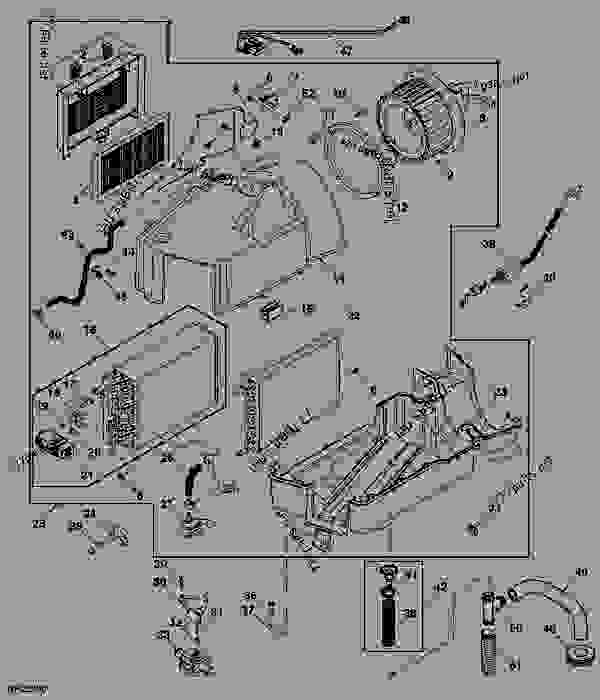heater  air conditioning module assembly