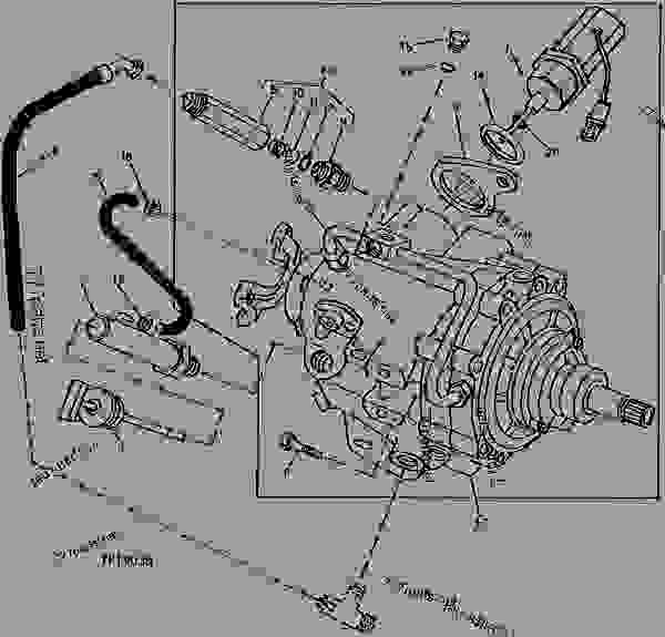 john deere drive belt diagram