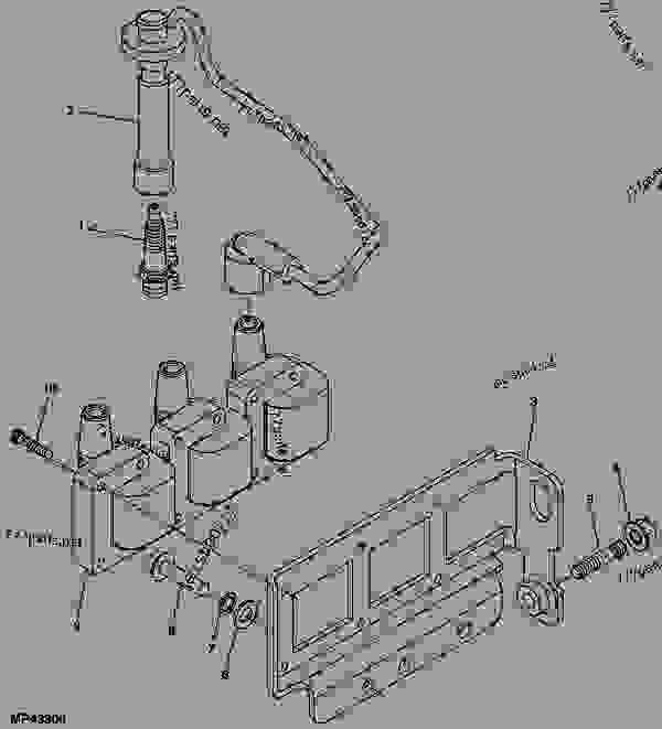john deere gator 825i power steering wiring diagram ignition coil - utility vehicle john deere 825i - utility ...