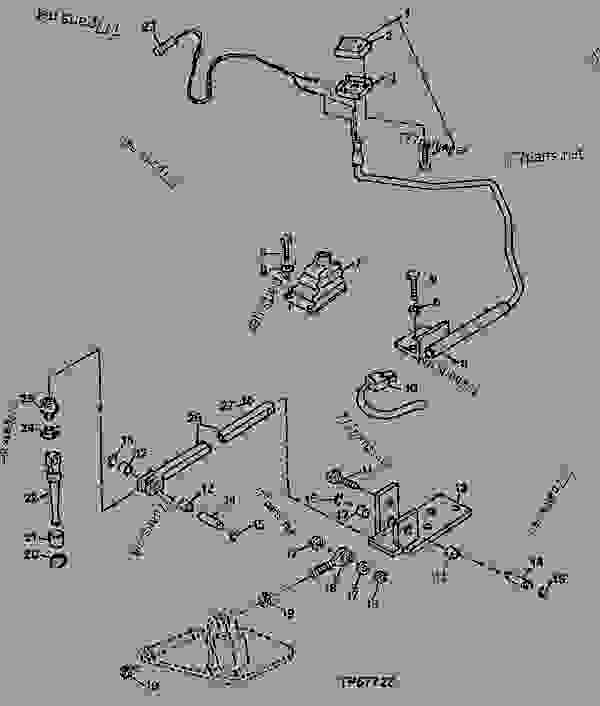 john deere 310d backhoe parts diagram