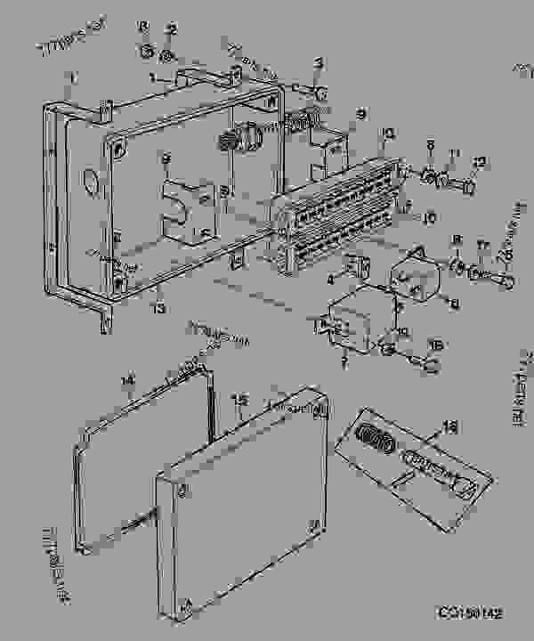 [SCHEMATICS_4NL]  FUSE BOX AND RELAY - COMBINE John Deere 1165 - COMBINE - 1165,1175 and 1175  Hydro Walker Combine (s.n. 060155-091543)(South American Edition)  ELECTRICAL SYSTEM FUSE BOX AND RELAY | 777parts | John Deere Combine Box Fuse |  | 777parts