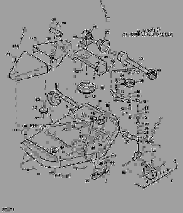 Dr Brush Mower Parts Diagram additionally Shindaiwa T231x Parts additionally Country Clipper Mower Deck Diagram additionally Wiring Diagrams John Deere Mower Parts Diagram John Deere 100 in addition John Deere Z425 Ignition Switch Wiring Diagram. on john deere lawn mower parts dealers