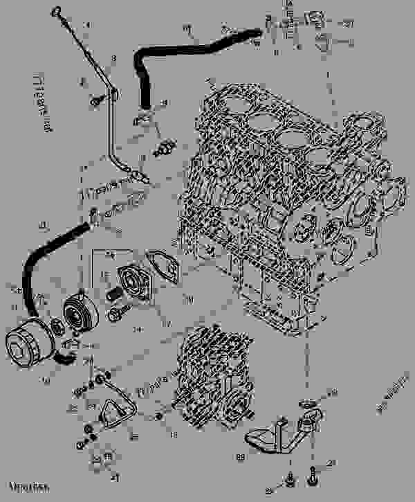 John Deere 110 Backhoe Wiring Diagram. John. Tractor Engine And ...