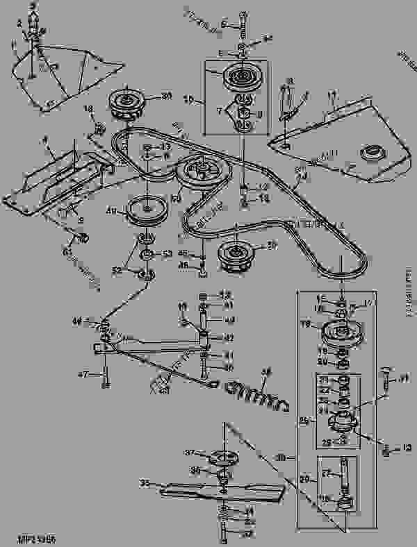 M134785 Belt John Deere Spare Part 777parts. Models Prising The Spare Part M134785 Belt. John Deere. C John Deere 54 Mower Belt Diagram At Scoala.co