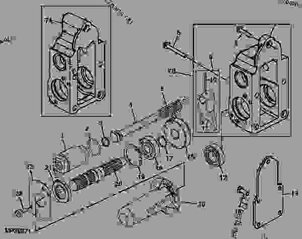MID PTO HOUSING AND GEARS [10] - TRACTOR, COMPACT UTILITY ... John Deere Wiring Diagram on john deere 4410 parts diagram, john deere 4410 oil filter, john deere 4410 fuel pump, john deere 4410 specifications, john deere 4410 fuel system, john deere 4410 cover, john deere 4410 battery,