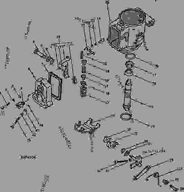 john deere 4020 injector pump diagram
