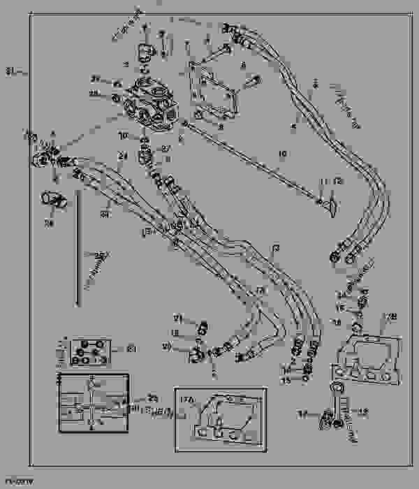 Parts scheme DIVERTER KIT (MECHANICAL) - TRACTOR, COMPACT UTILITY John Deere 2520 - TRACTOR, COMPACT UTILITY - 2520 Compact Utility Tractor HYDRAULICS DIVERTER KIT (MECHANICAL) | 777parts