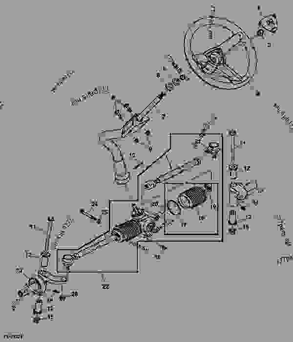 John Deere 1010 Wiring Schematic as well T14396779 John deere stx 30 wiring harness besides John Deere La115 Parts Diagram also Wiring Diagram For A John Deere 6400 In Lt133 With D140 likewise AZ0f 16139. on john deere 318 wiring diagram