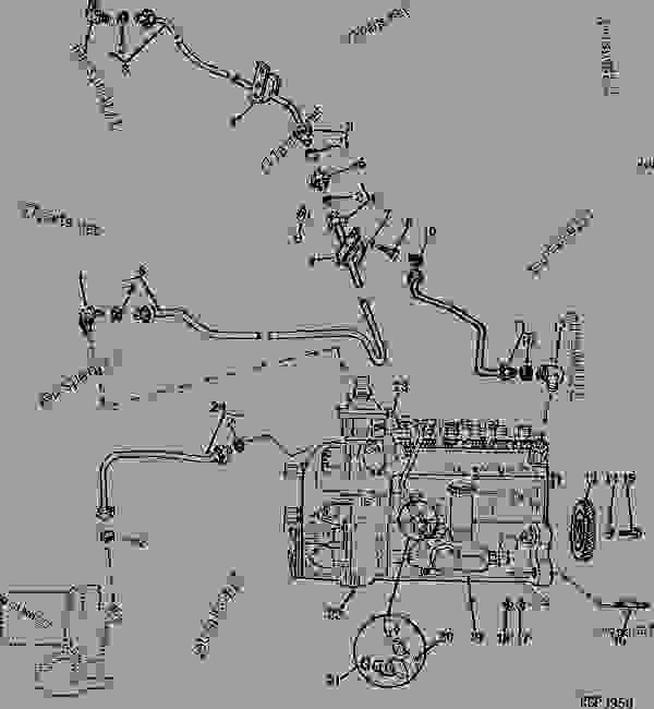 robert bosch injector pump diagram