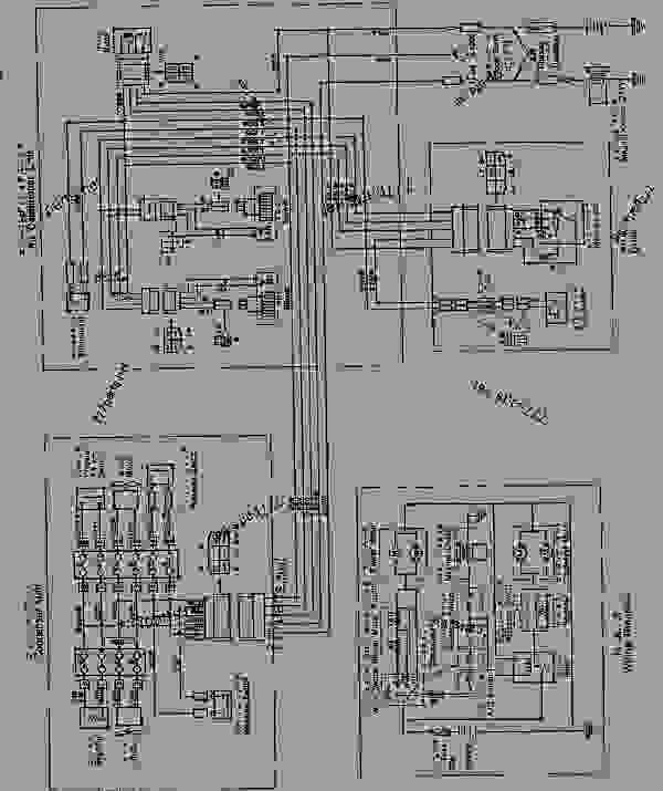 K0710 55A0_1 air conditioner wiring diagram (for rops cab)( 15001 16486 hitachi electric chain hoist wiring diagram at bayanpartner.co
