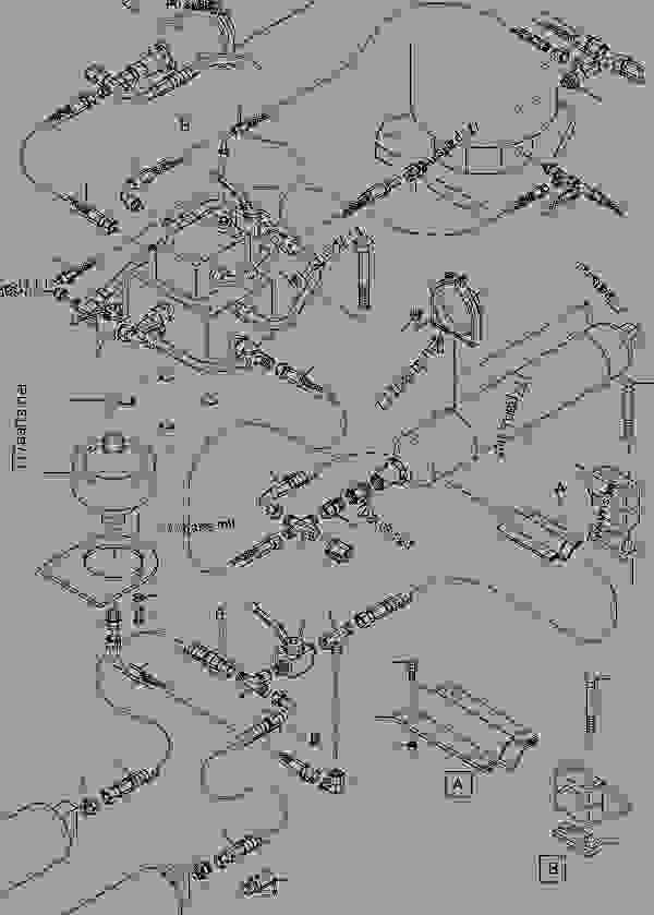 Parts scheme Accumulator - Hydraulic Shovels Komatsu PC5500-6 - * = Variations from page: | 777parts