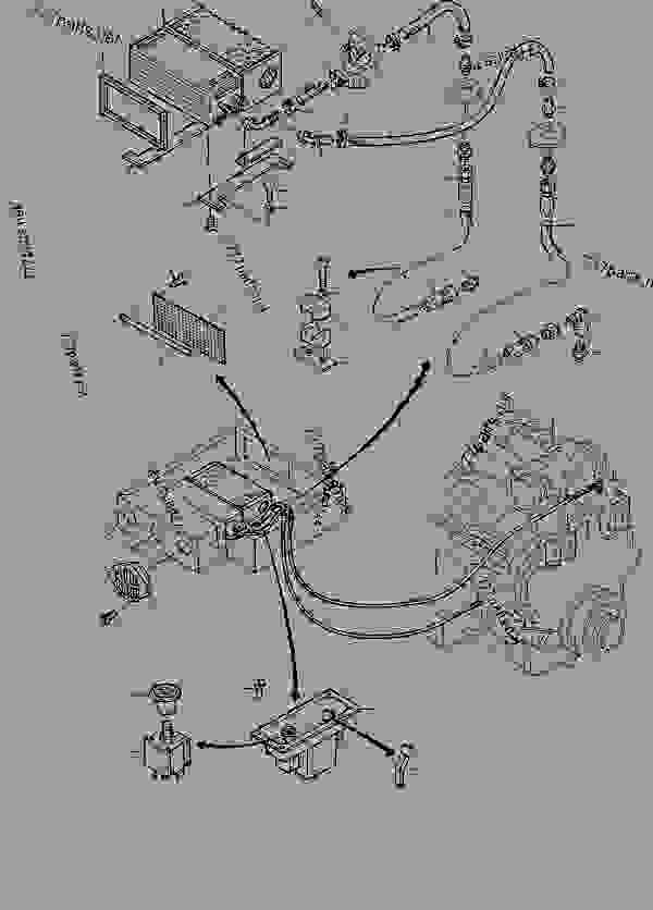 Parts scheme Hot-water-heater - Hydraulic Shovels Komatsu H285S - OPERATOR'S CAB | 777parts