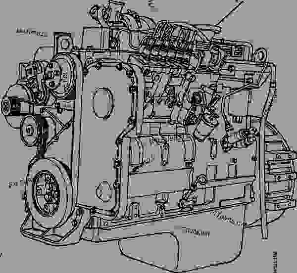 engine assembly - gd650  850