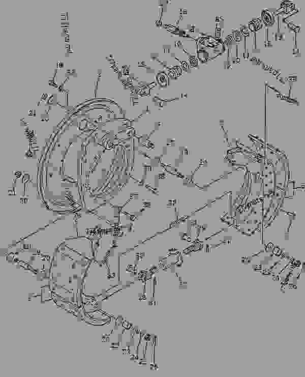 Parts scheme WHEEL BRAKE - Other Komatsu GS360-2 - WHEEL | 777parts