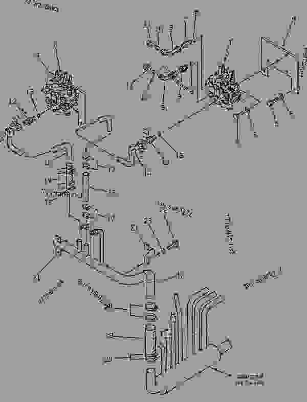 Parts scheme HYDRAULIC PIPING (RETURN) - Other Komatsu GS360-2 - HYDRAULIC SYSTEM | 777parts