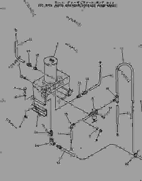 auto greaser  grease pump line