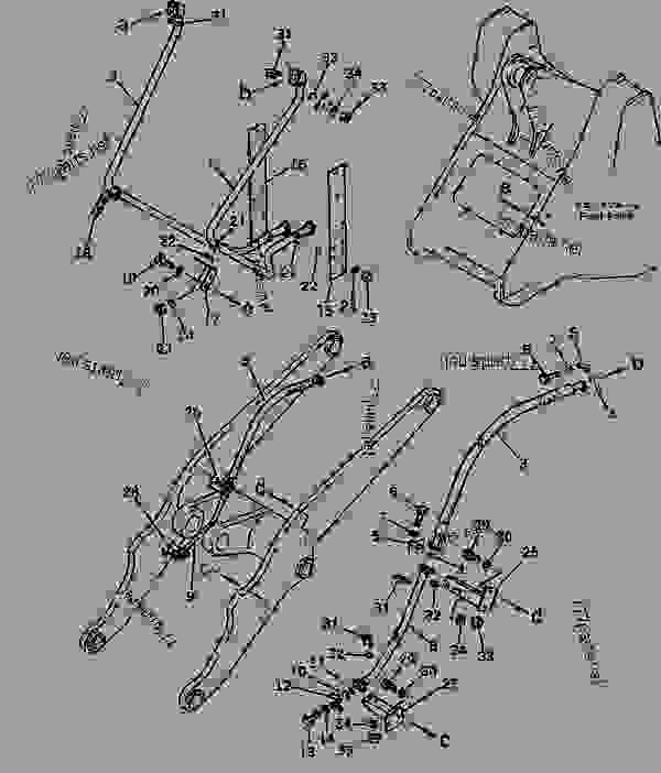 HYDRAULIC PIPING (FOR FRONT ATTACHMENT 2/2) - Wheel Loader ... on 574 international tractor carburetor schematic, hydraulic loader valve schematic, front end loader scales, front end loader hydraulic design, front end loaders for tractors, front end loader operation, shuttle valve schematic, front end loader attachments, front end loader accidents, front loader hydraulic systems on, skid loader hydraulic schematic, front end loader snow plow, front loader dimensions, for on front loader hydraulic schematic, front end loader drawing, front end loader for utv, front end loader hydraulic cylinders,