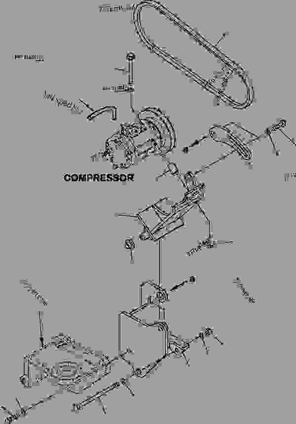 air conditioner - compressor mounting