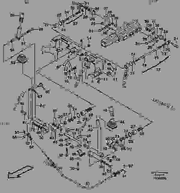 Skid Steer Control Levers : Auxiliary control levers forward reverse compact wheel
