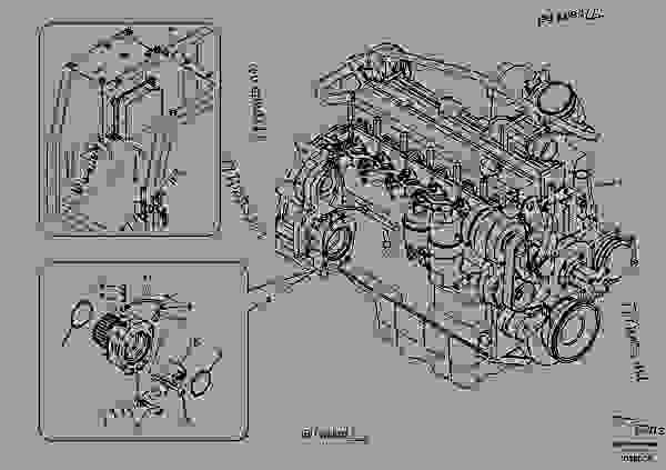 Parts scheme Engine - Excavators Volvo EC210B - Engine with mounting and equipment Engine General | 777parts