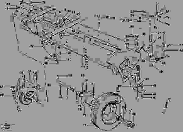 Parts scheme Windrow eliminator - moldbard assembly - Motor Graders Volvo G700B - Hydraulic system, digging/handling/grading equipm., misc. Equip. Mechanical equipment Attachments, others | 777parts