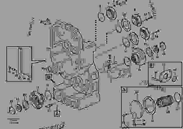 transfer case housing and covers wheel loaders volvo l180e rh 777parts net Volvo A30D Volvo A35D