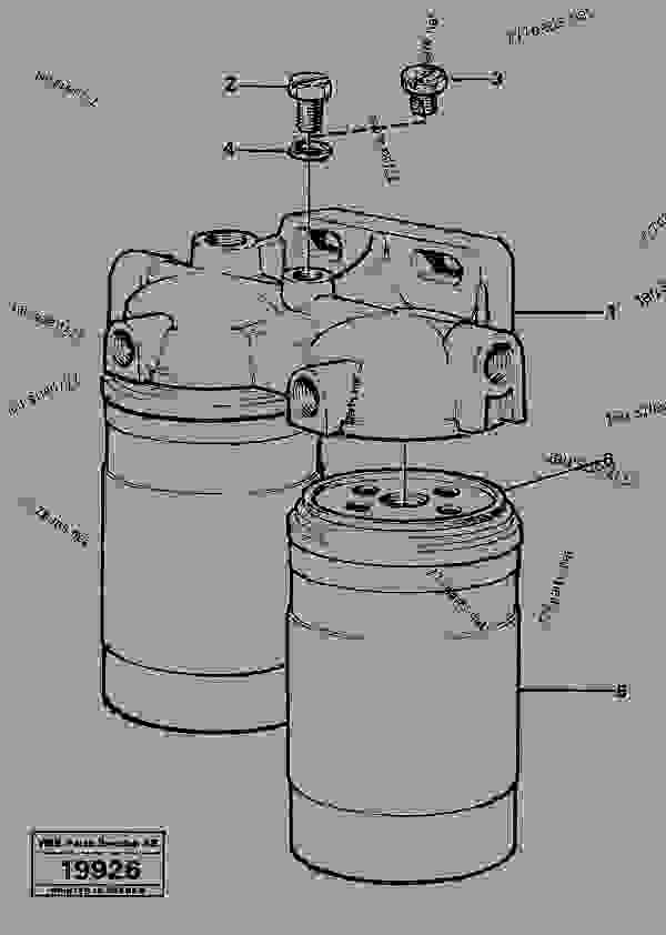 fuel filter - old products volvo bm volvo l50