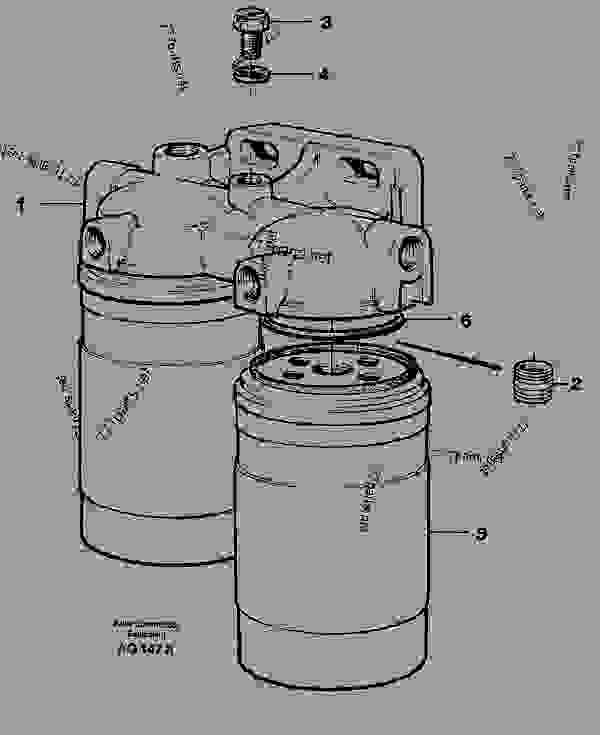 fuel filter - wheel loaders volvo l120c
