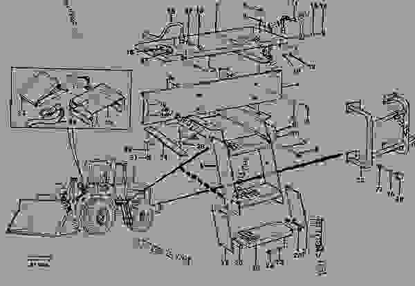 Parts scheme Foot step - Wheel Loaders Volvo L90C - Machinery house, cab, exterior trim parts anywhere Engine hood, mudguard, foot step Foot step, stair, hand rail, safety rail, slip protection | 777parts