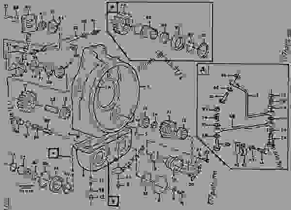 Pump Drive Articulated Haulers Volvo A25c Power Transmission - Wiring Diagram