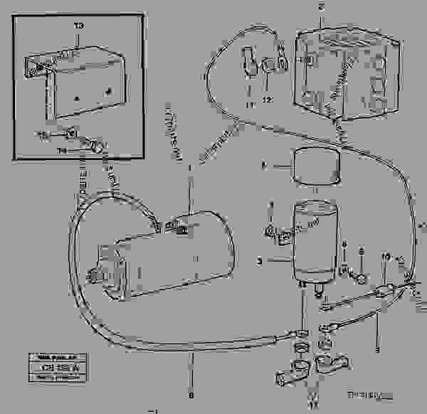 starter element with fitting parts