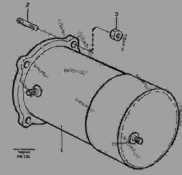 Parts scheme Starter motor, mounting - Excavators Volvo EC150C - Electrical, warning, informationsystems and instruments Starting system General | 777parts